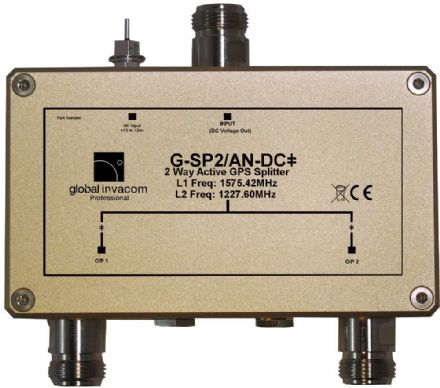 GPS 2 Way Active Splitter
